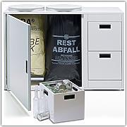 m lleimer 60 liter g nstig online kaufen lionshome. Black Bedroom Furniture Sets. Home Design Ideas