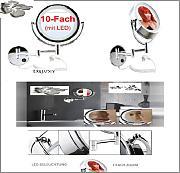 beleuchteter badspiegel g nstig online kaufen lionshome. Black Bedroom Furniture Sets. Home Design Ideas