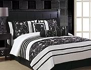 bett berwurf schwarz g nstig online kaufen lionshome. Black Bedroom Furniture Sets. Home Design Ideas